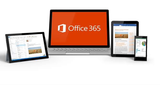 Office 365 on laptops and tablets
