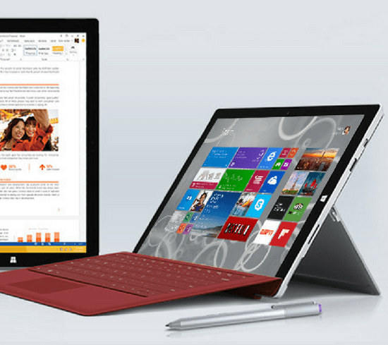 Surface with surface pen and office 365