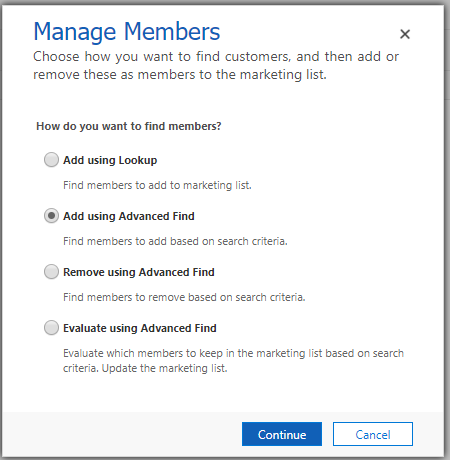 How to create Dynamic Marketing Lists in Dynamics 365